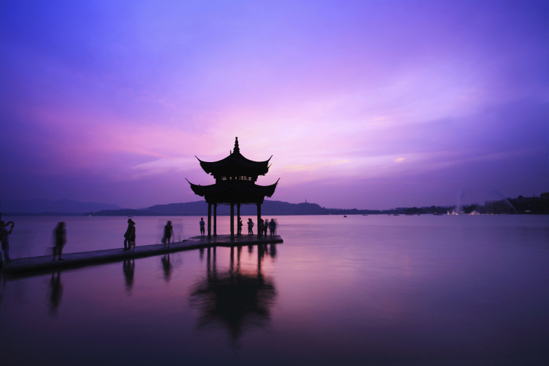 Фиолетовый (пурпурный) цвет в китайской культуре