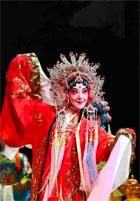 грим в пекинской опере