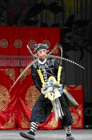пекинская опера - театральный костюм