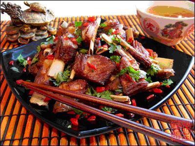 Тушеные бараньи ребрышки - рецепт приготовления с фото | 300x400